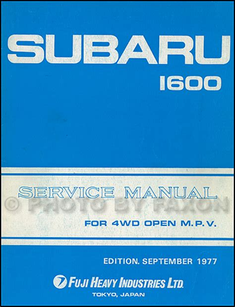 online service manuals 1987 subaru brat free book repair manuals 1978 subaru brat repair shop manual original supplement