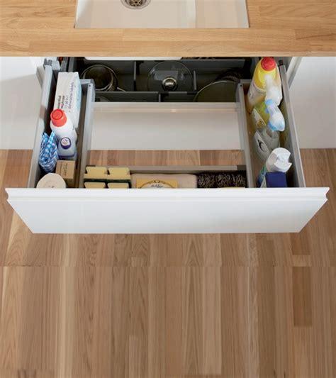 rangement evier cuisine tiroir de rangement sous 233 vier houdan cuisines