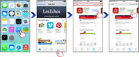 comment t 233 l 233 charger des applications sur l iphone