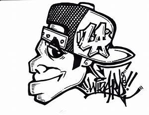 Cool Graffiti Drawings - Pencil Art Drawing