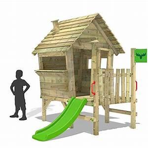Spielhaus Mit Veranda : fatmoose spielhaus vanillavilla joy xxl stelzenhaus gartenhaus mit rutsche veranda spielhaus ~ Frokenaadalensverden.com Haus und Dekorationen