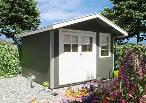 luoman gartenhaus 187 lillevilla 410 171 bxt 348x366 cm inkl aufbau und fu 223 boden kaufen otto