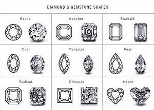 engagement ring guide stone cuts shapes With wedding ring cuts and shapes
