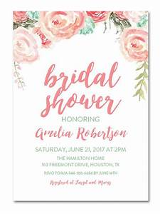 Printable bridal shower invitations you can diy for Wedding shower announcements