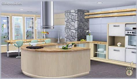 Sims 3 Object Sets: Audacis Kitchen Set Custom Content