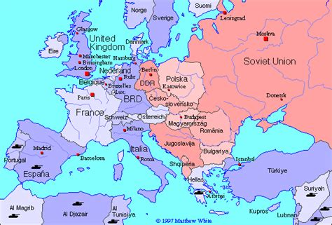 maps map  europe