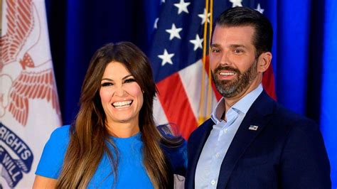 trump guilfoyle jr donald kimberly girlfriend politics tests positive jrs mo story
