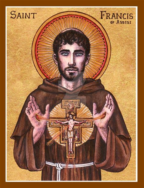 st francis of assisi icon praying according to your temperament 1 23 16 prayer clinic the
