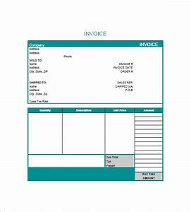 graphic design invoice template 8 free sample example With graphic design invoice template pdf