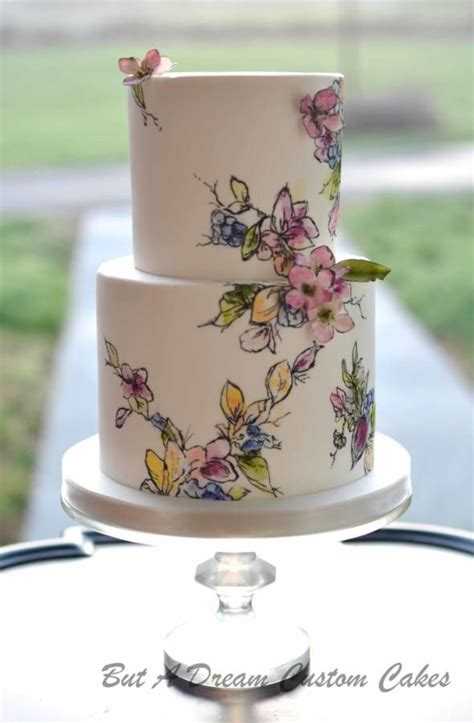 1240 best Hand Painted Cakes images on Pinterest   Fondant cakes, Postres and Amazing cakes
