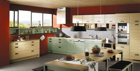 papier peint cuisine chantemur déco cuisine bois naturel ciabiz com