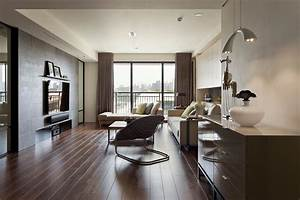 Alluring 80 living room decorating ideas dark wood floors for Rooms with black floors
