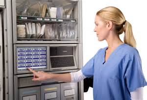 surgical supply automated dispensing cabinet