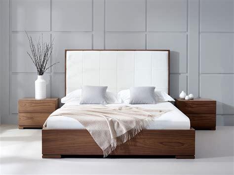 Bella Natural Walnut Bed Living It Up