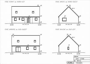plan de maison facade cool plain pied with wekillodorscom With plan de maison facade