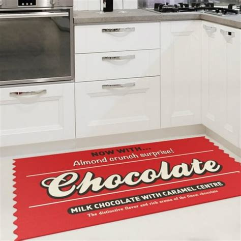 grand tapis de cuisine tapis de cuisine chocolate cadeau maestro