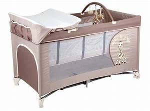Lit Avec Table à Langer : top 7 lits parapluies avec table langer babybed ~ Teatrodelosmanantiales.com Idées de Décoration