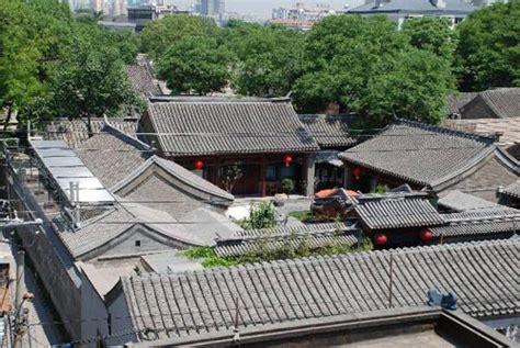 courtyard house plan 北京四合院建筑 城市建筑图片 资讯频道