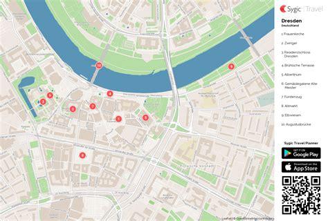 karte von dresden ausdrucken sygic travel