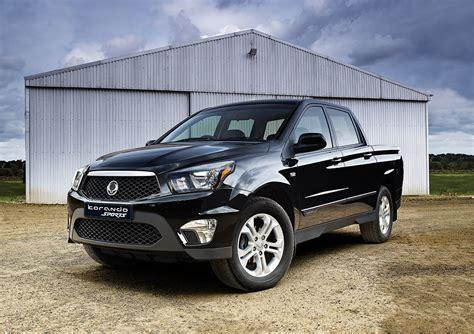 ssangyong korando sports pick  picture