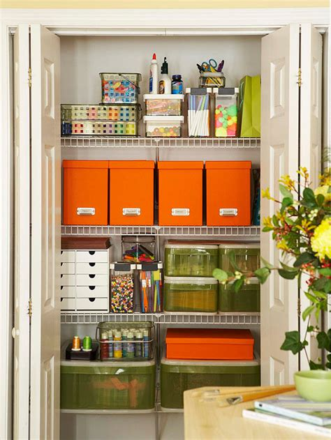 Organize Craft Closet by Inspiration Craft Closet Organization The Inspired Room