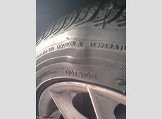 Bulge in sidewall of one Runflat tyre Please Help