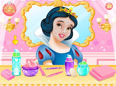 snow white makeover game