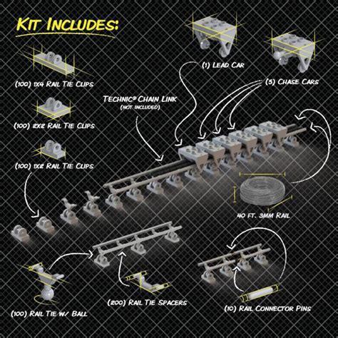 coaster lego roller coasterdynamix factory parts park technic chain amusement track sets kit labs coaster101 pieces pre order system build