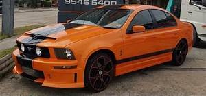 Check Out This Australian Ford Falcon Turned Ford Mustang GT500 @ Top Speed | Ford mustang gt500 ...