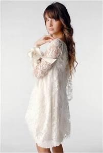 Robe Boheme Courte : robe de mari e courte une tendance montante pour 2011 ~ Melissatoandfro.com Idées de Décoration
