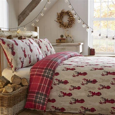 Brushed Cotton Duvet Cover - 100 brushed cotton flannelette bedding quilt duvet cover