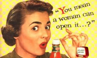 Image result for images of women in 1950s commercials