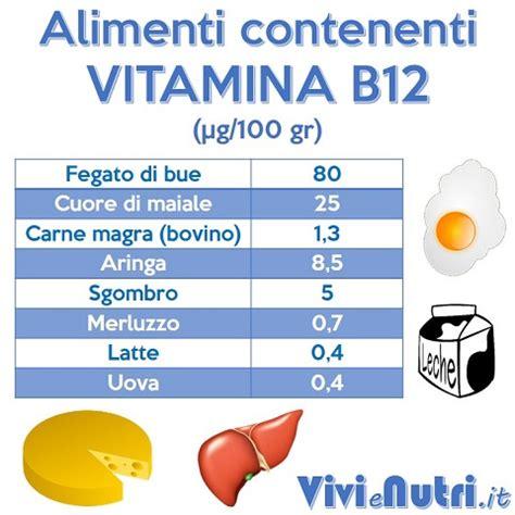 alimenti con vitamine e 187 alimenti con vitamine b12