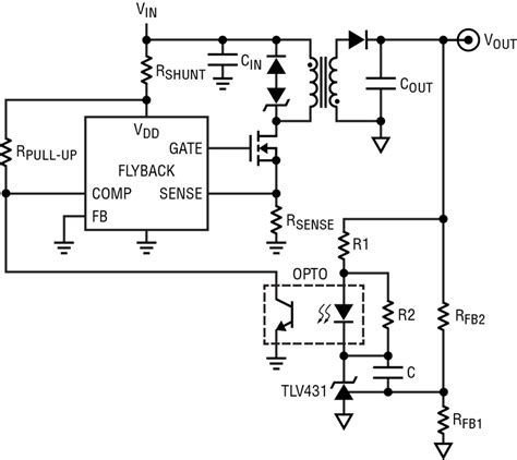 Power Supply Adjustable Current Limiting Flyback
