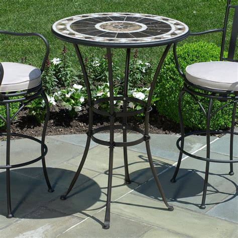 Small Patio Table And Chairs by Small Peerless Table And Stools Bar Height