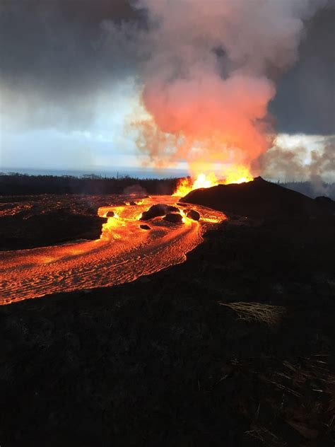 Volcano Images Amazing Kilauea Volcano Imagery You Might Missed