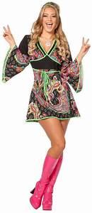 80er Jahre Kostüm Damen : hippiekost m damen 70er 80er jahre kleid kost m flowerpower hippie party disco ebay ~ Frokenaadalensverden.com Haus und Dekorationen