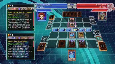 yugioh bandit keith starter deck yu gi oh millennium duels gameplay meklord salvo deck