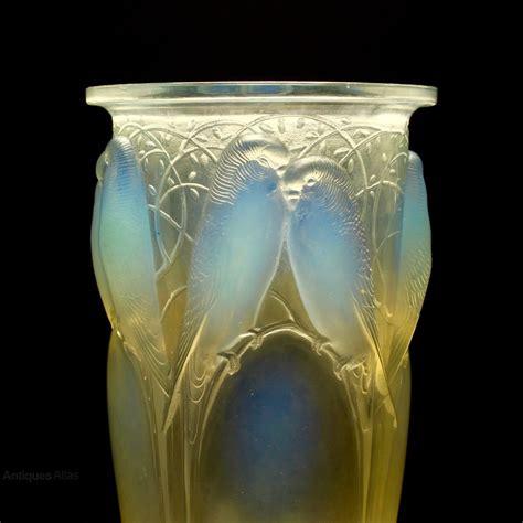 lalique vase antiques atlas 20th c rene lalique ceylon glass vase c1920