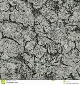 Cracked Concrete Wall Seamless Tileable Texture Stock