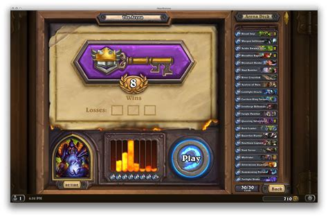 hearthstone deck builder arena finally managed to make an all minion arena deck