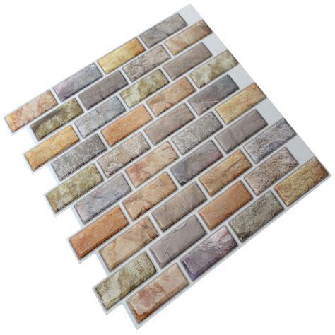 instant mosaic 12 quot x 12 quot epoxy peel stick mosaic tile in