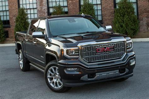 gmc sierra  denali named truck trends truck