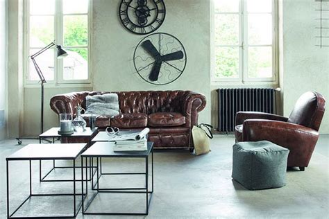 industrial living room furniture designs decorating