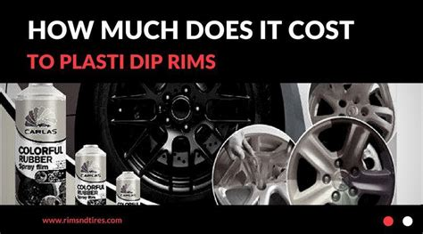 How Much Does It Cost To Plasti Dip Rims  Rims And Tires