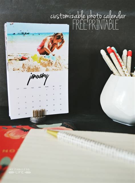 print your own desk calendar free printable 2015 desk calendar my fabuless life