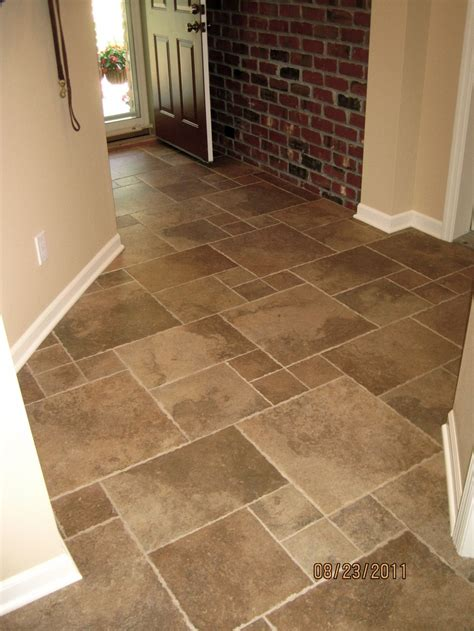 this tumbled edge porcelain was laid in a quot versaille