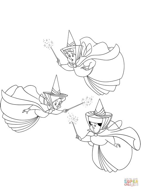 good fairies flora fauna  merryweather