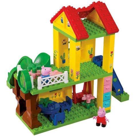 la maison de peppa pig peppa pig la maison achat vente assemblage construction cdiscount