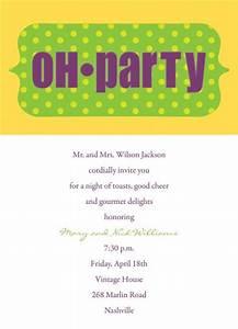 Funny Dinner Party Invitation Wording | cimvitation